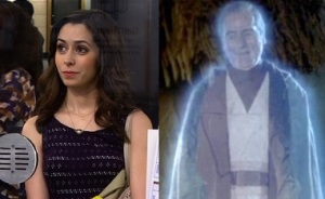Cristin Milioti HIMYM Sebastian Shaw Return of the Jedi