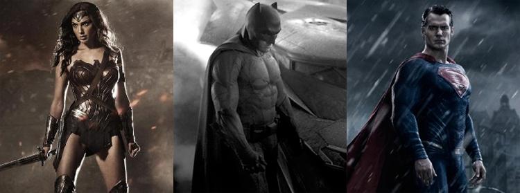 Batman VS Superman Dawn of Justice - Gal Gadot, Ben Affleck, Henry Cavill