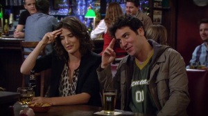 Ted and Robin Salute