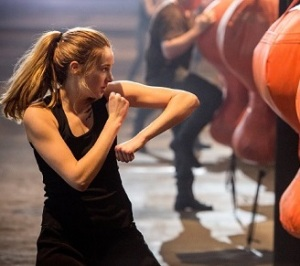 Tris Prior Training - Shailene Woodley