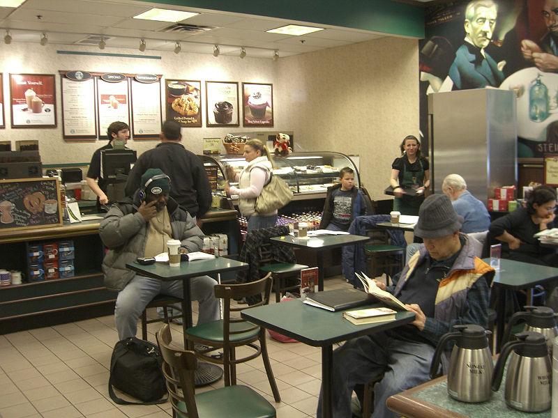 Barnes & Noble Cafe Seats Rant   A.D. Martin