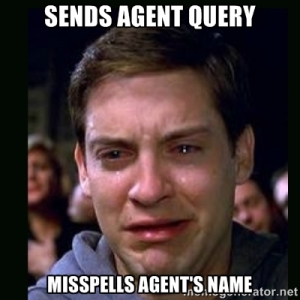 Peter Parker Crying Meme Sends Agent Query Misspells Agent's Name