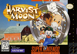 Harvest Moon SNES North American Covert