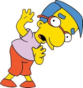 Milhouse Van Houten - The simpsons
