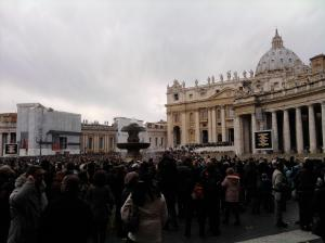 Christmas in Saint Peter Square (Plaza)