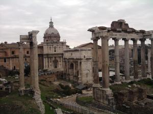 Some ruins and stuff in Rome