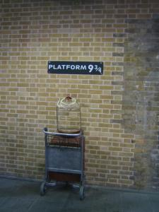 Platform 9 and Three Quarters