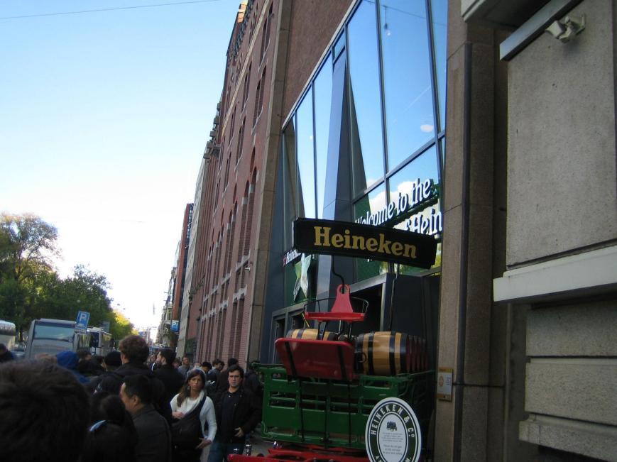 Heineken Brewery Tour in Amsterdam