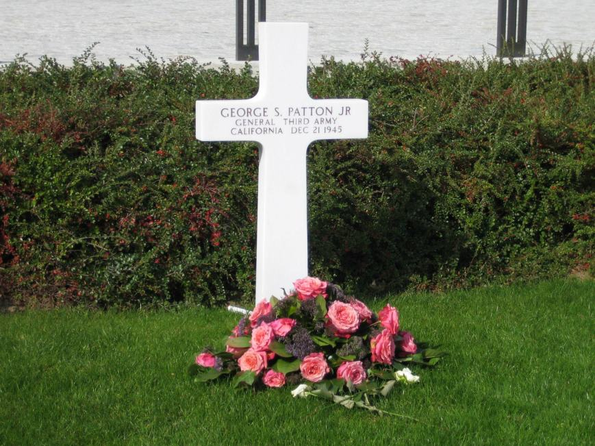 Patton Grave Marker Luxembourg