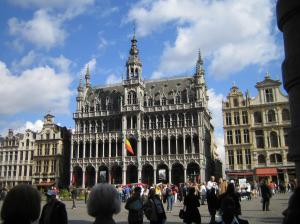 Some building in Brussels.