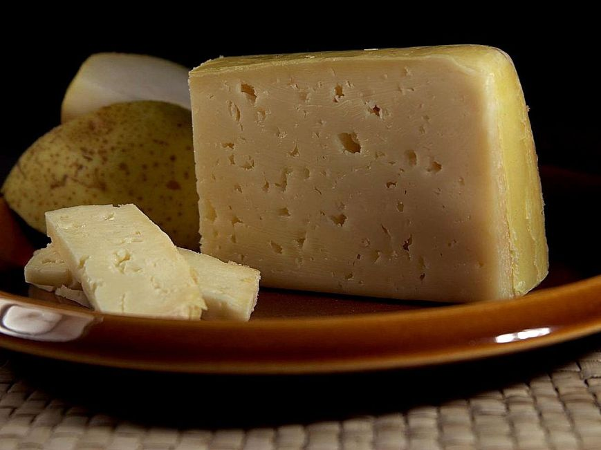 Tilsit Cheese by John Sullivan - Public Domain Image