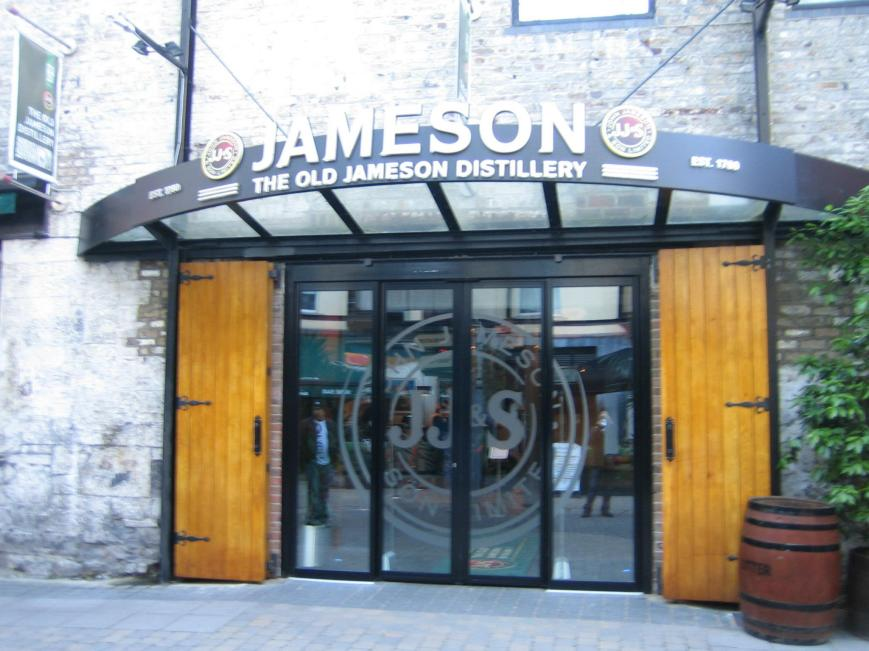 Horrible Photo of the Old Jameson Distillery