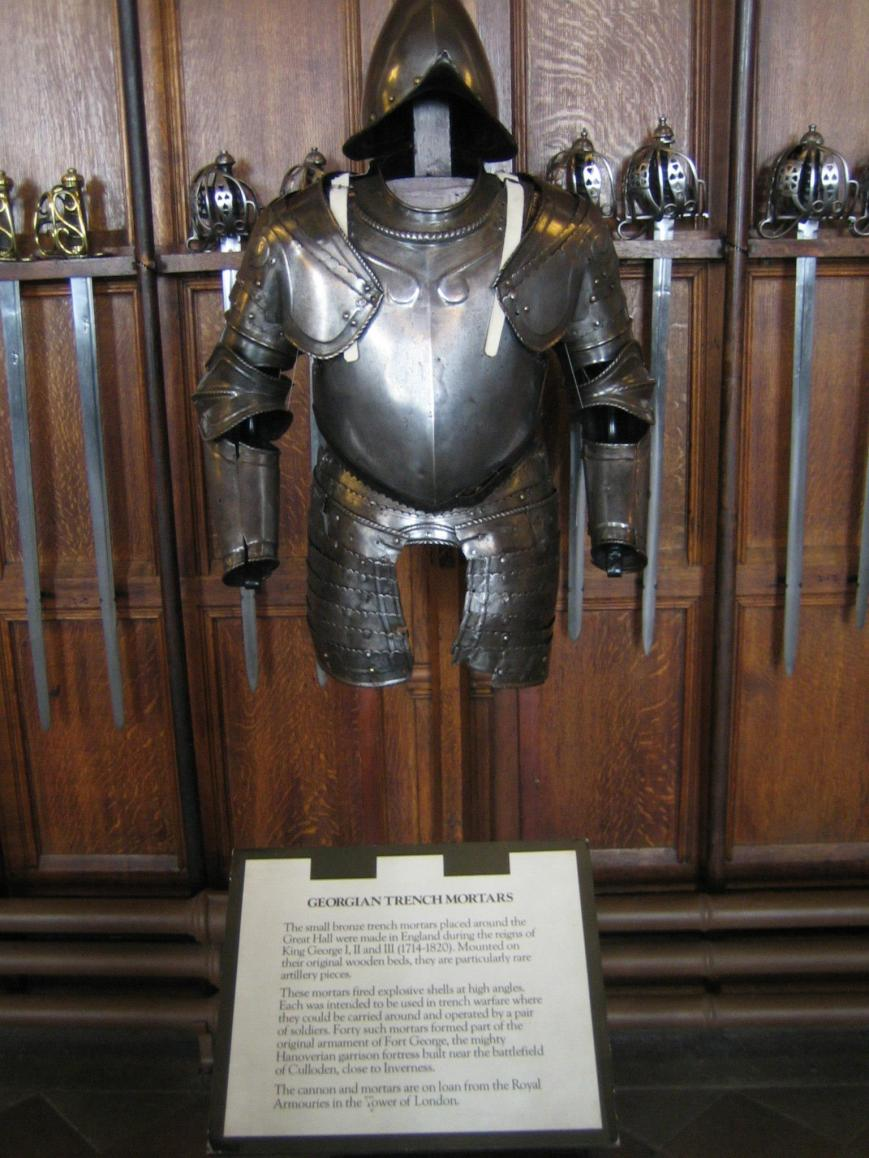 Suit of Armor in Edinburgh Castle