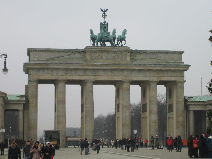 I was familiar with the Brandenburg Gate beforehand thanks to Civilization V (