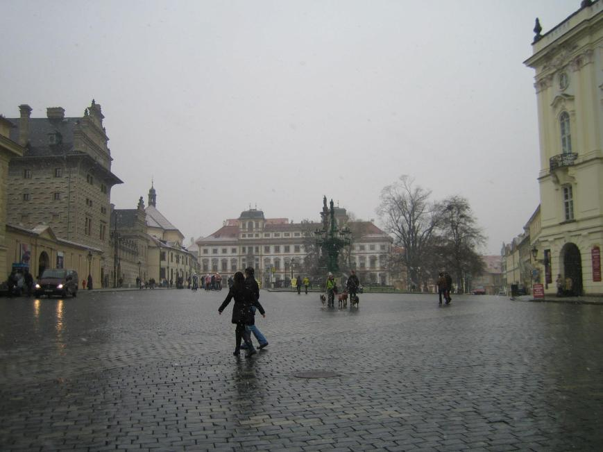 Prague Castle, somewhere.