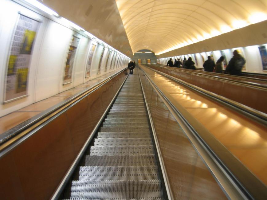 Longest escalator I've ever seen.