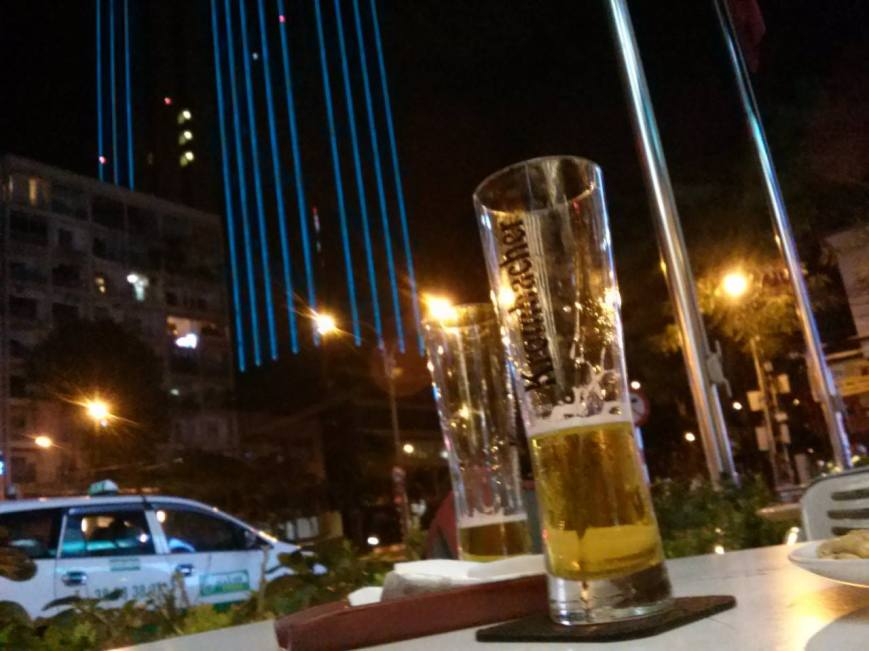 Some beer in Saigon.