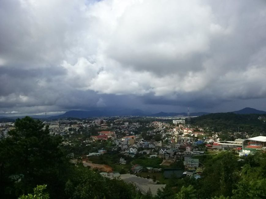 Overlooking some part of Da Lat.
