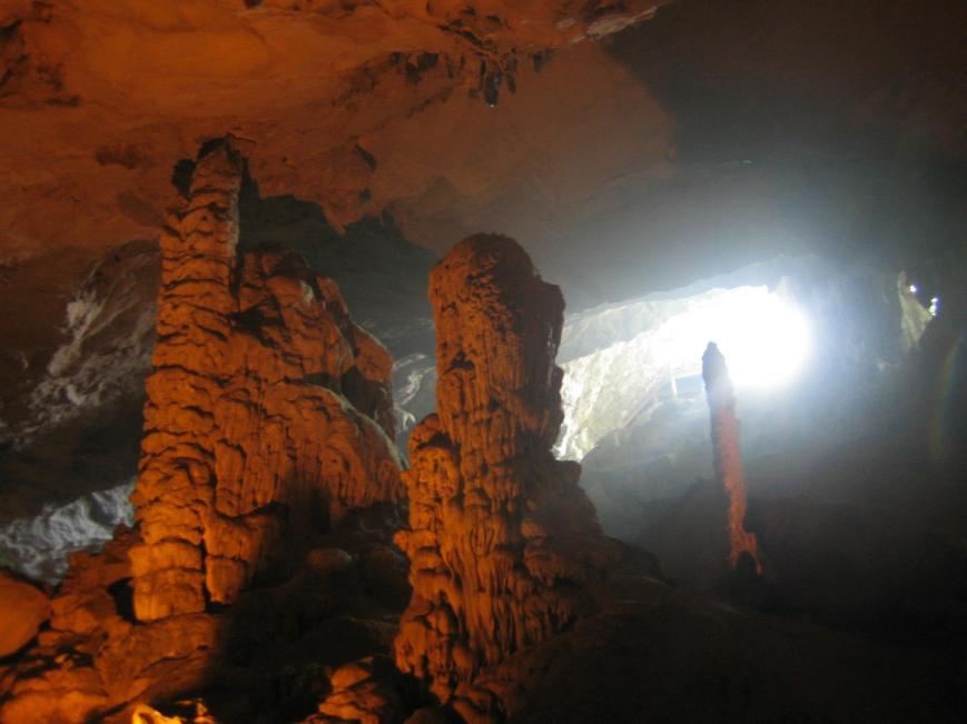 Cave fun.
