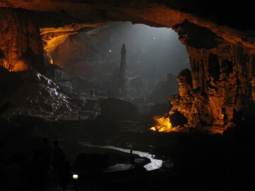 More of the cave.