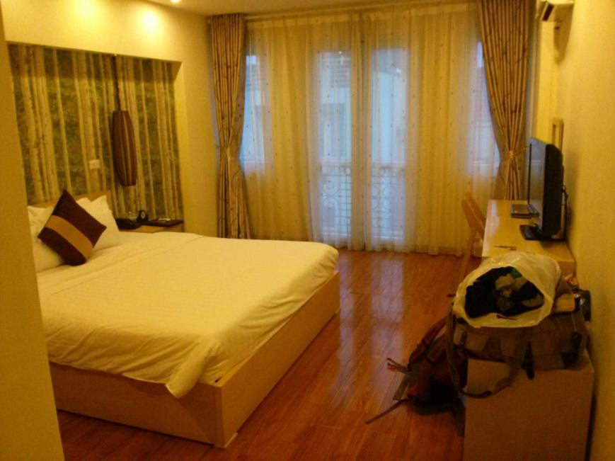 My room in the Hanoi Impressive Hotel.
