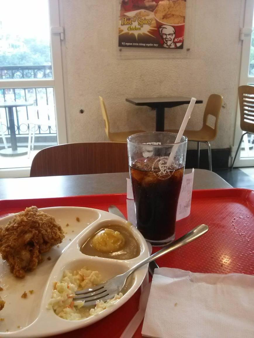 American fast food = my comfort food.