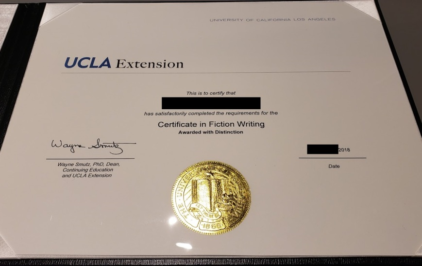 certificateinfiction